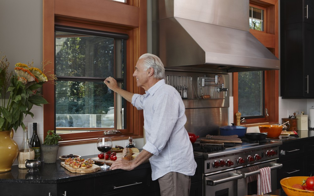 Keep your kitchen windows open and keep the bugs out with Phantom Screens