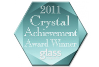 Phantom Screens 2011 Crystal Achievement Award Winner