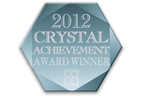 Phantom Screens 2012 Crystal Achievement Award Winner