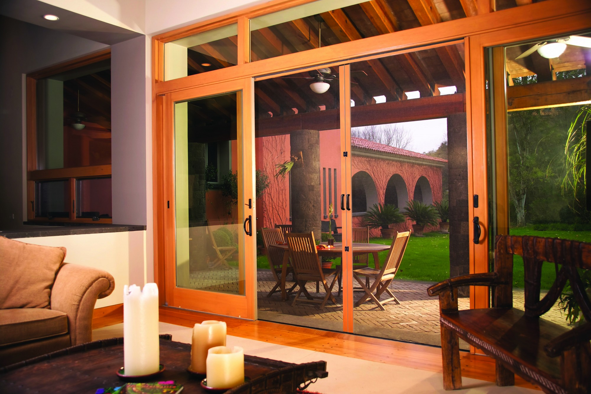 Double French doors \u2013 Mexico shoot (High-Res) & Double French doors - Mexico shoot (High-Res) - Phantom Screens
