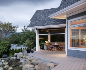 Enjoy your porch a little bit longer, banish the bugs and screen in your porch with Phantom Screens