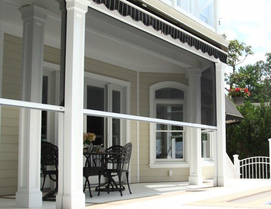Motorized Retractable Screens Phantom Screens