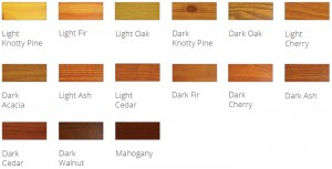 If you want your screen to have a wood grain finish – we can do that too with a variety of Decoral® decorative wood grain finishes.