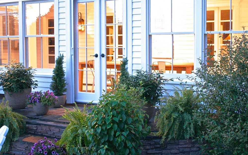 Phantom retractable screens that are perfect for French doors