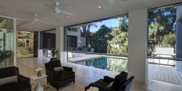 Blending The Indoors With Outdoors Motorized Screens Create An Outdoor  Oasis In This Orlando Show Home. See Featured Home Story ...