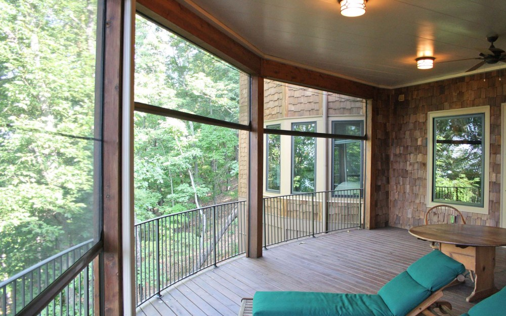 Phantom's motorized screens are perfect for large porches and patios