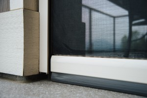 Phantom Executive motorized screens keep bugs at bay and offer shade when needed