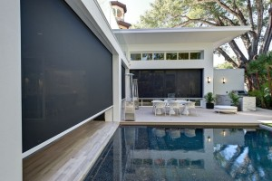Block the bugs & the sun while letting in the breeze with Phantom Screens for porches & patios