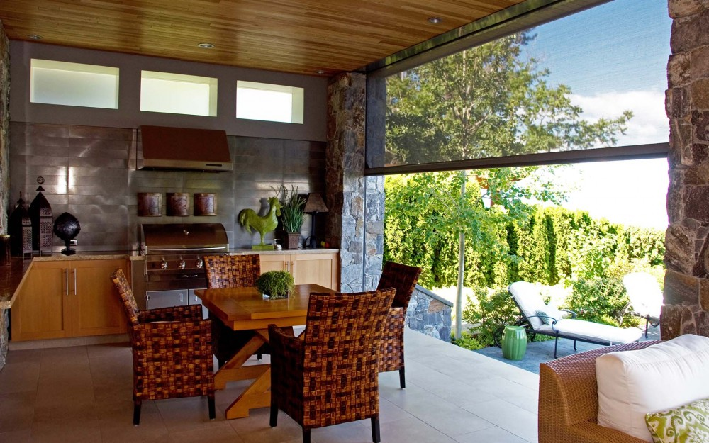 Summer outdoor living by the lake? Yes, please! - Phantom ... on New Vision Outdoor Living id=34813