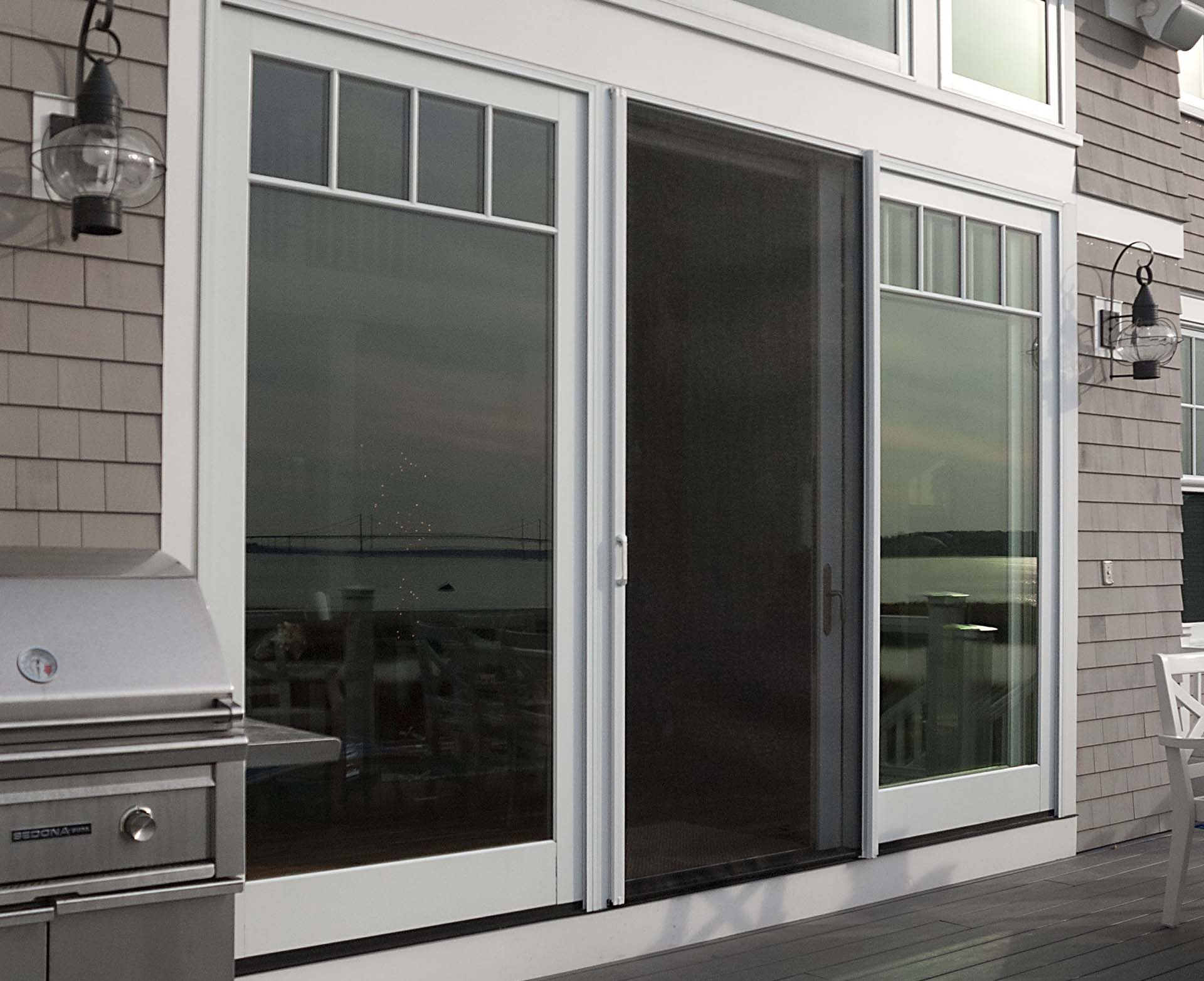 Phantom Screens are perfect for single sliding doors