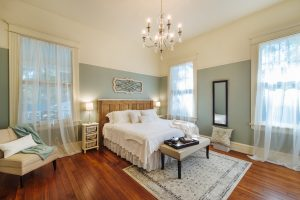 Southern Romance master bedroom