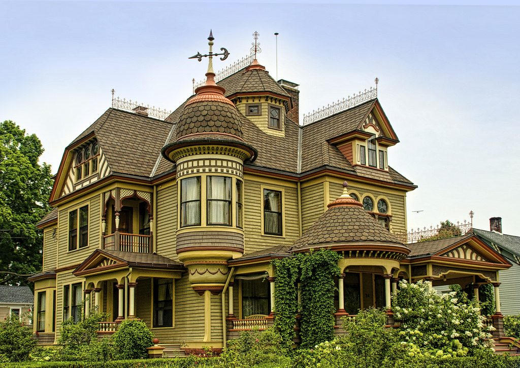 """""""Painted Lady"""" Victorian home"""